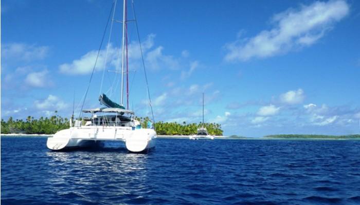 catamaran Tetiaroa